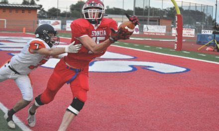 Estancia plays its best game of the season 'by far' but falls to Capitan