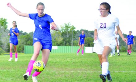 Two own goals sink East Mountain girls in loss to Rehoboth Christian