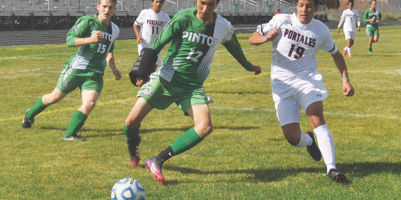 Penalty kick in overtime propels Moriarty Pintos past Portales Rams